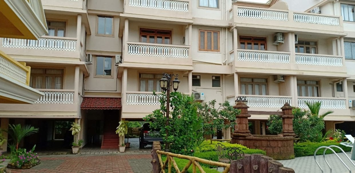 1bhk apartment for long term rent in La Berta's Residency in Benaulim next to Vaddy Beach