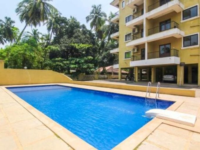 2BHK Penthouse in Vision Greens complex, Arpora ₹1.2 crores