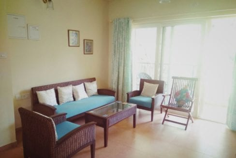 2bhk apartment for long term rent in Acron Emerald Court in Nagoa North Goa Bardez