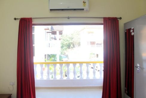 1bhk apartment for long term rent in greenwood meadows complex in candolim north goa