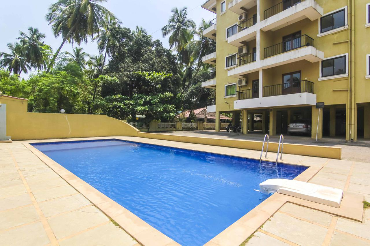 2bhk Penthouse in Vision Greens Complex, Arpora 35,000/- per month